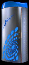 Солярий синий